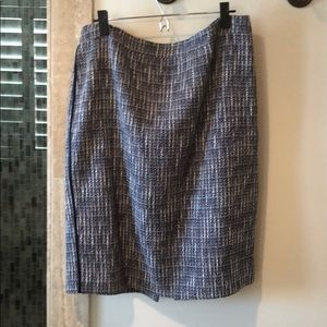 J Crew tweed pencil skirt
